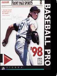 Front Page Sports - Baseball Pro '98